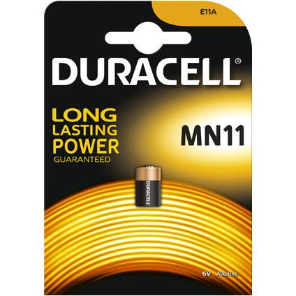 Pile alcaline Duracell 'MN11' 6 V
