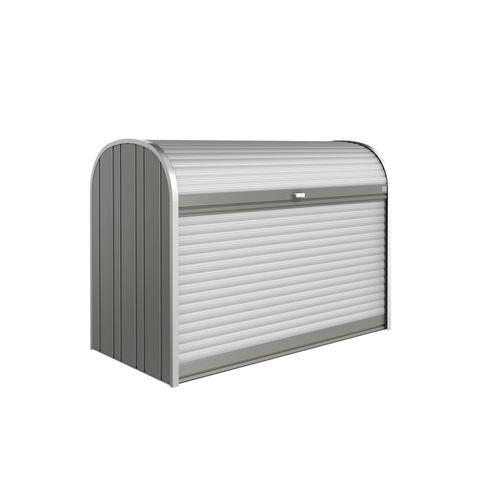 Coffre de Jardin Biohort StoreMax 190 gris qrtz 97x190cm