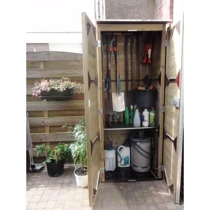 Lutrabox tuinkast hoog 80x206x82cm