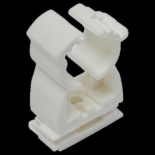 Sanivesk zadel met klikbevestiging wit 50 stuks 18-22mm