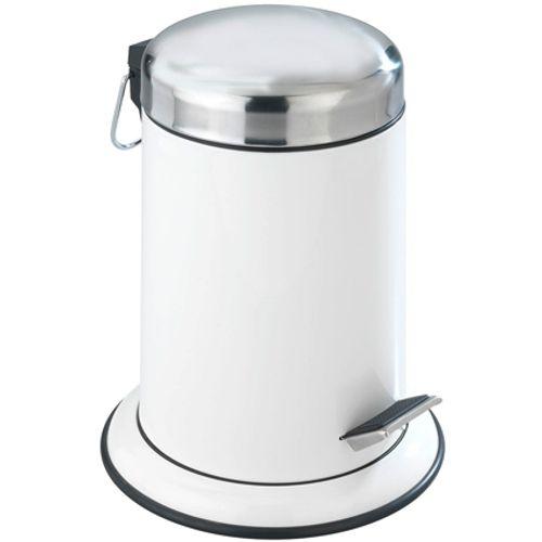 Poubelle à pédale Wenko 'Retro' métal blanc 3 L