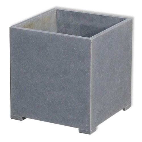 Pot V.A.S.P 'Square Modern' pierre bleue belge 80 x 80 x 82 cm