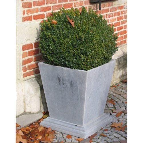Pot V.A.S.P 'Cone Classic' pierre bleue belge 50 x 50 x 55 cm