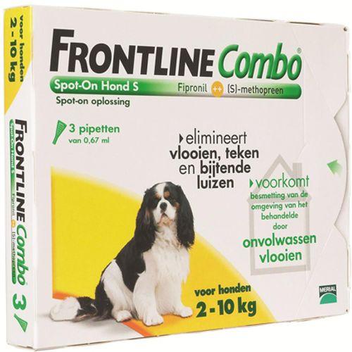 Frontline Combo hond small 2-10kg 3 pip