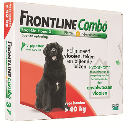 Frontline Combo hond extra large >40kg 3 pip