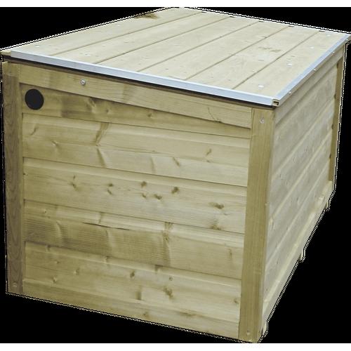 Lutrabox tuinkist 160cm + 2 gasveren