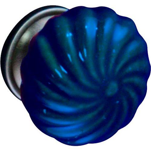 Bouton de porte Linea Bertomani '2068.40.69' bleu