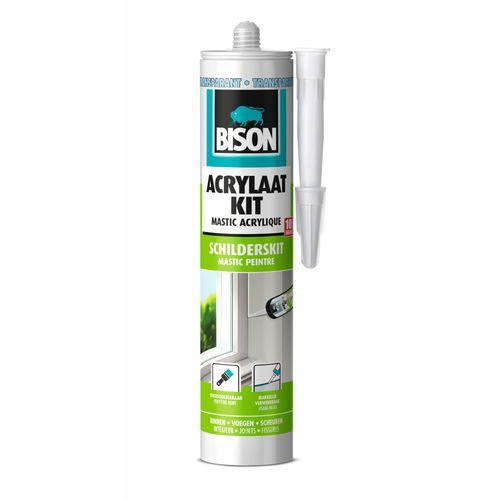Bison acrylaatkit universeel transparant 300ml