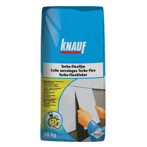 Colle carrelage Knauf 'Turbo-Flex' 5 kg