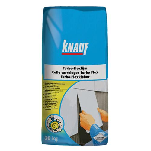 Colle carrelage Knauf 'Turbo-Flex' 5 kg