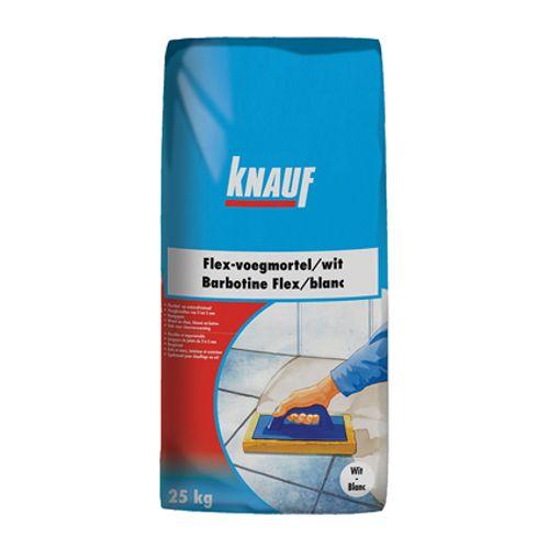 Barbotine Knauf 'Flex' gris argenté 5 kg