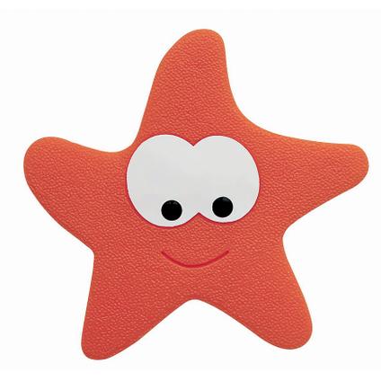 Spirella antislipmat 'Starfy' rood - 5 stuks