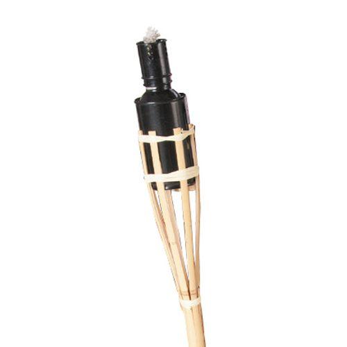 Bamboe fakkel zwart 120cm