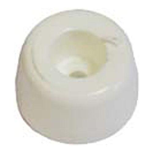 Arrêt de porte Linea Bertomani synthetique blanc 10mm