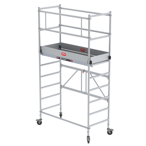 Echafaudage Altrex 'Module B' aluminium hauteur travail 3,80 m