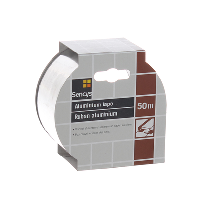 Sencys aluminium tape 5000x5cm