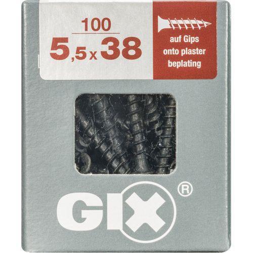 Vis cloison sèche Spax 'GIX Type G' 38 x 5,5 mm - 100 pcs