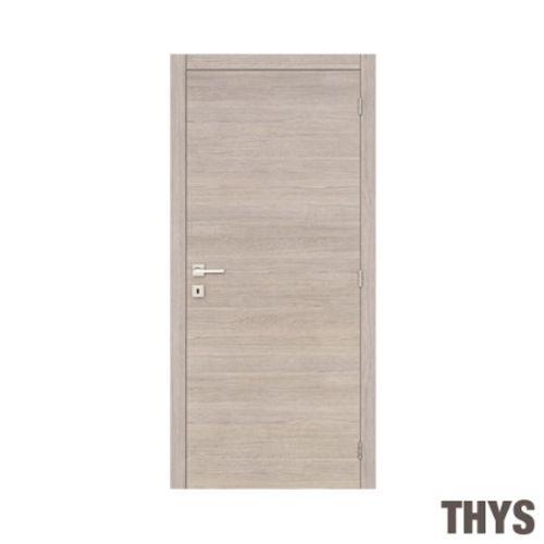 Bloc-porte Thys 'Concept S63' chêne gris horizontal 78cm