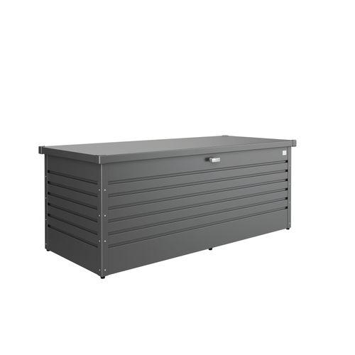 Biohort kussenbox Hobby 180 donkergrijs 79x181cm