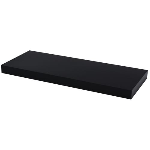 Duraline wandplank XL4 hoogglans zwart PVC 60cm