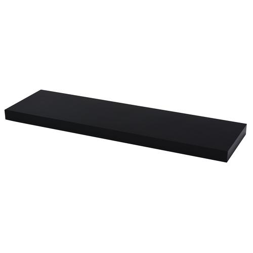 Duraline wandplank XL4 hoogglans zwart PVC 80cm