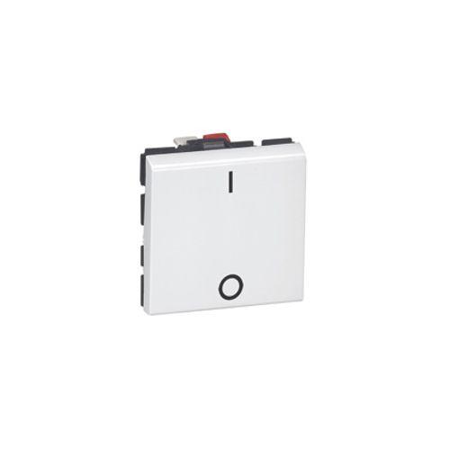 Mosaic interrupteur bipolaire 2 modules Legrand DLP blanc