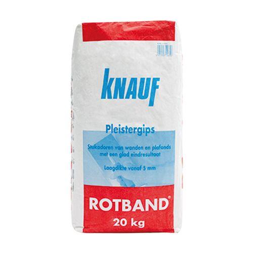 Knauf gipspleister Roodband 20kg