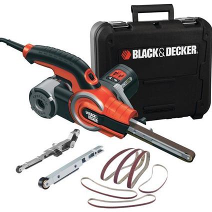 Ponceuse à bande Black + Decker 'KA902EK-QS' 400W