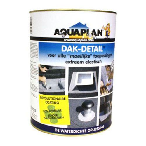 """Aquaplan waterdichte oplossing """"Dak-detail"""" 1,4Kg"""