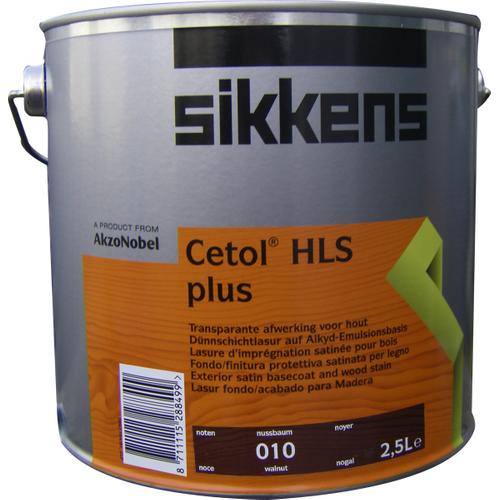 Sikkens 'Cetol HLS plus' beits mat noten 2,5L