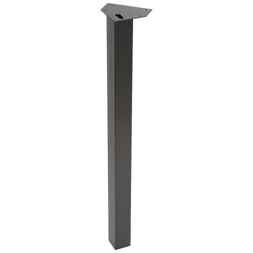 Duraline meubelpoot vierkant hamerslag 5x72cm