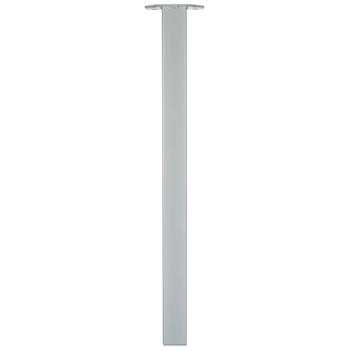 Duraline meubelpoot vierkant zilvergrijs 5x72cm