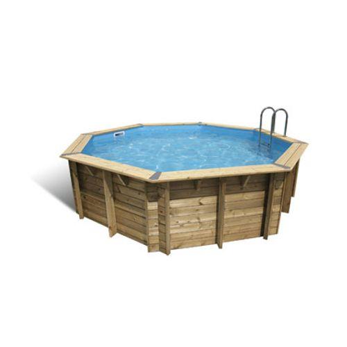 Ubbink houten opzetzwembad Océa Ø 430cm