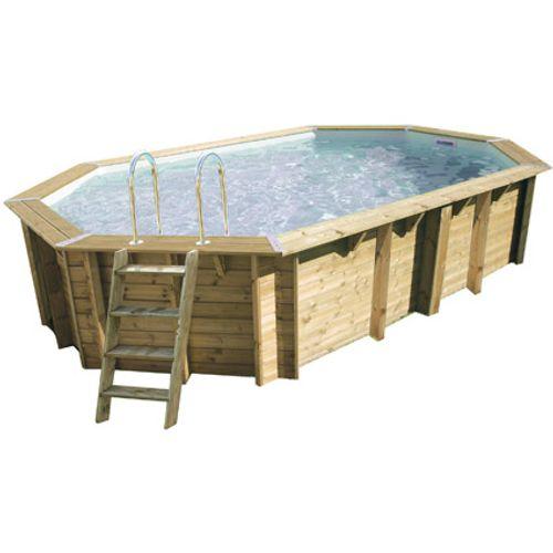 Ubbink houten opzetzwembad Océa 610x400cm