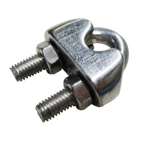 Sencys kabelklem beugel rvs grijs Ø 6 mm