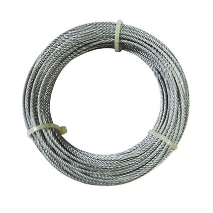 Sencys staaldraadkabel 2 mm x 20 m
