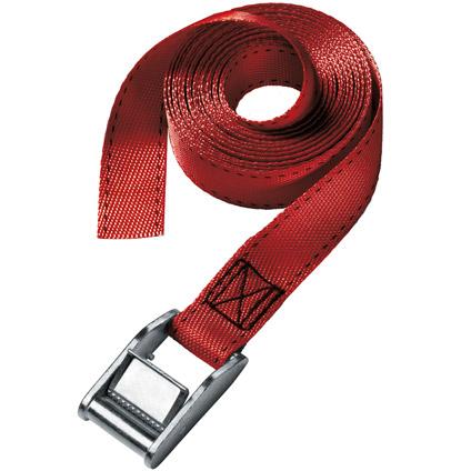 Sangle à bagage Master Lock bleu, rouge, vert 5 m x 25 mm