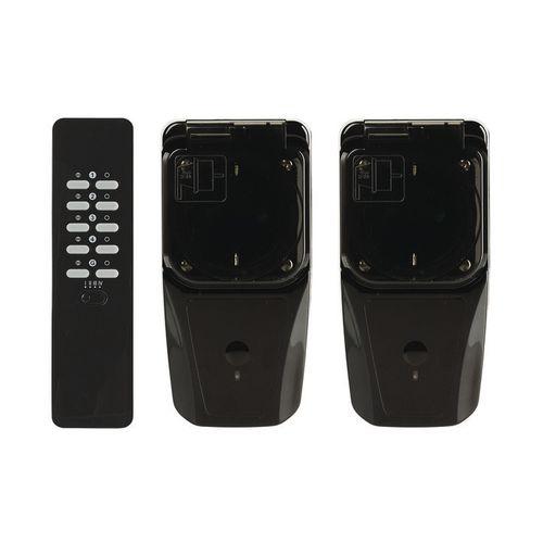 Coco set 3 stopcontacten met afstandsbediening 'AGDR2-3500R' 3500 W