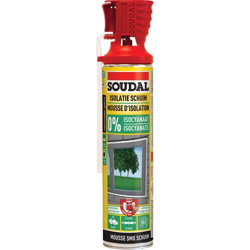 Mousse d'isolation Soudal 'PU SMX' 500 ml