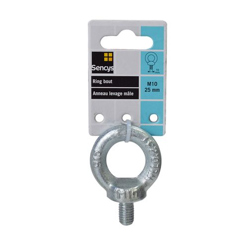 Sencys ring bout 'M10' staal 25 mm