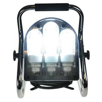 Lampe de travail sur pied Profile 'PL-240' 2x18W en 1x24W