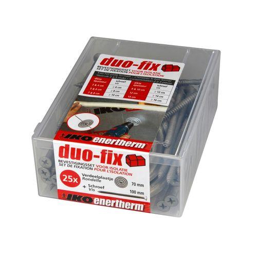 Set de fixation pour isolation Iko Duo-Fix 10 cm