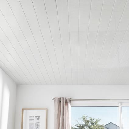 Lambris Grosfillex PVC blanc 8 mm