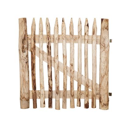 Porte en bois de châtaignier 100 cm