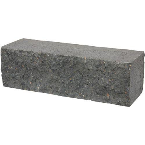 Decor splitsteen antraciet 29 x 9cm