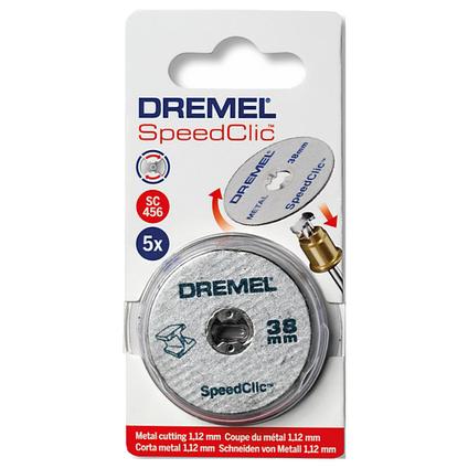 Dremel SpeedClic metaal multiset S456JD 12stuks