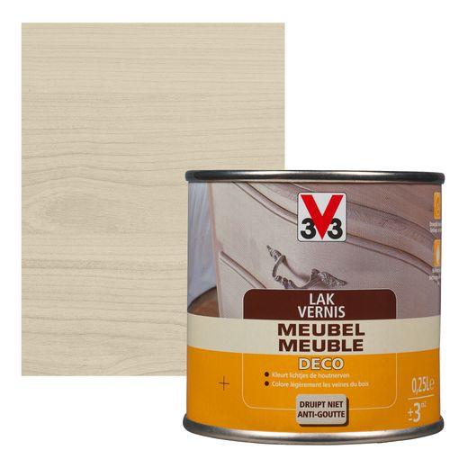 V33 meubellak Deco wit satijn 250ml