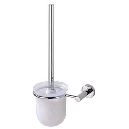 Brosse de toilette Wenko 'Powerloc' blanc