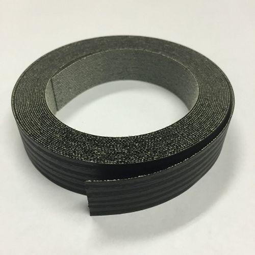 Sencys kantenband linea zwart 5m