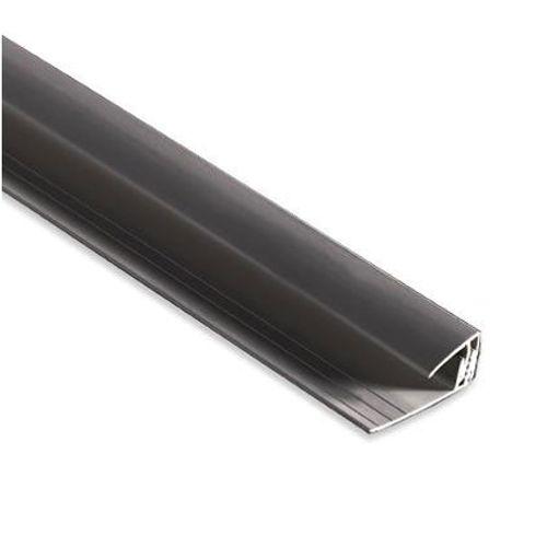 Profilé de départ Dumaplast PVC noir 260 cm